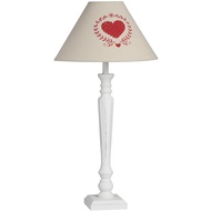 Country Heart Lamp