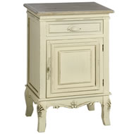 Country Right Hand Side Bedside Cabinet