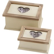 Country  Set  Of  2  Photo  Boxes