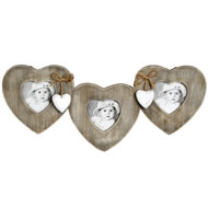 Hearts  And  Bows  Hanging  Frame