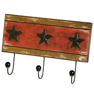 Star  3  Hook  Wall  Mount