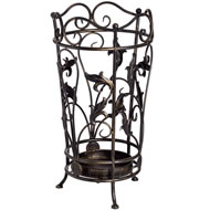 Round  Metal  Umbrella  Stand