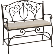 Iron  Occasional  Bench