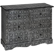 Marrakech six drawer chest