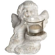 Guardian  Angel  With  Tea  Light  Holder