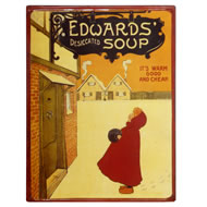Edwards  Soup  Plaque
