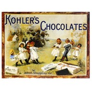 Kohlers  Chocolates  Plaque