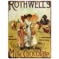 Rothwells  Milk  Chocolate  Plaque
