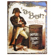 The  Best  Imperial  French  Coffee  Plaque