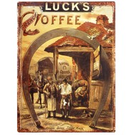 Luck's  Coffee  Plaque