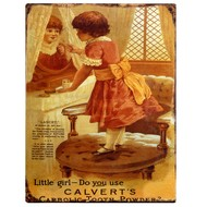 Little Girl Plaque