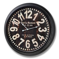 Chef  Le  Normand  Clock