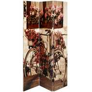 Floral  Bike  Screen