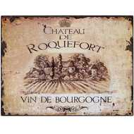 Roquefort  Tin  Sign