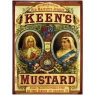 Keen's  Mustard  Tin  Plaque