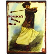 Horlicks  Malted  Milk  Tin  Sign
