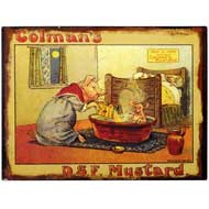 Mustard Tin Plaque