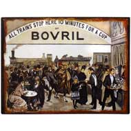 Bovril Tin Plaque