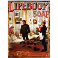 Lifebuoy  Soap  Tin  Plaque