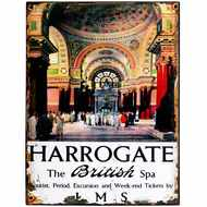 Harrogate  Spa  Tin  Sign