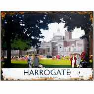 Harrogate  Royal  Baths  Tin  Sign