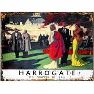 Harrogate  Society  Tin  Sign