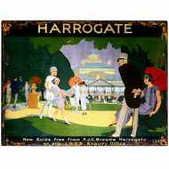 Harrogate  Town  Tin  Sign