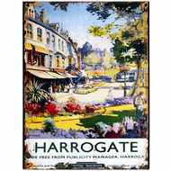 Harrogate  Advertising  Tin  Sign