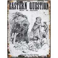 Eastern  Question  Tin  Sign