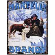 Martells Brandy Tin Sign