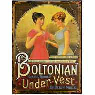 Boltonian  Under  Vest  Tin  Sign