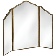 Venetian  Mirrored  Range  Three  Way  Dressing  Table  Mirror