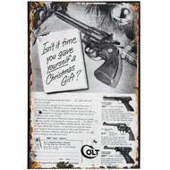 Christmas  Colt  Tin  Sign