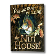 Nut  House  Sign