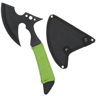 Black And Green Small Tomahawk