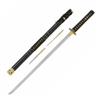 Black Tai Chi Katana with Stand
