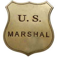 U.S. marshall badge