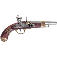 Napoleon pistol, manufactured by Gribeauval, France 1806.