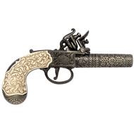London Pocket Pistol 1795 - Ivory Handle