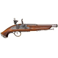 Flintlock Pirate Pistol 18th Century
