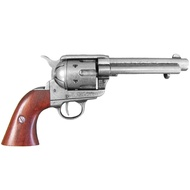 Colt Peacemaker With Wooden Handle Gun Metal  Finish 1869