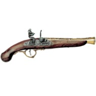 Flintlock pistol, Germany 18th C.