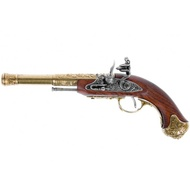 Flintlock Pistol India 18th Century Left Handed