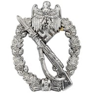World War II Infantry assault badge, Germany 1939