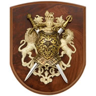 2  Sword  Plaque