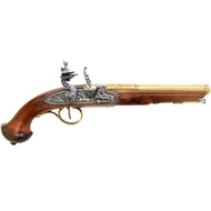 Gold Trim Flintlock Pistol