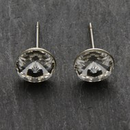 Clear  Crystal  Stud  Earrings