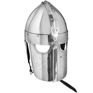 Battle Ready 16 Guage Steel Norman Helmet with FullFace Mask