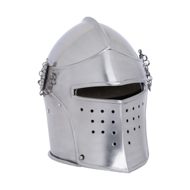 Visored Bascinet Closed Combat Reenactor Helmet