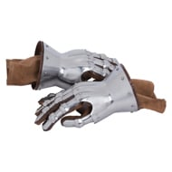 Cuff Gauntlet including Leather Gloves